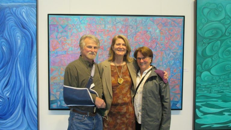Category 1. Exhibition Opening.Randy, Dena and Michele