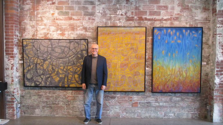 Category 2.2. David with paintings.2