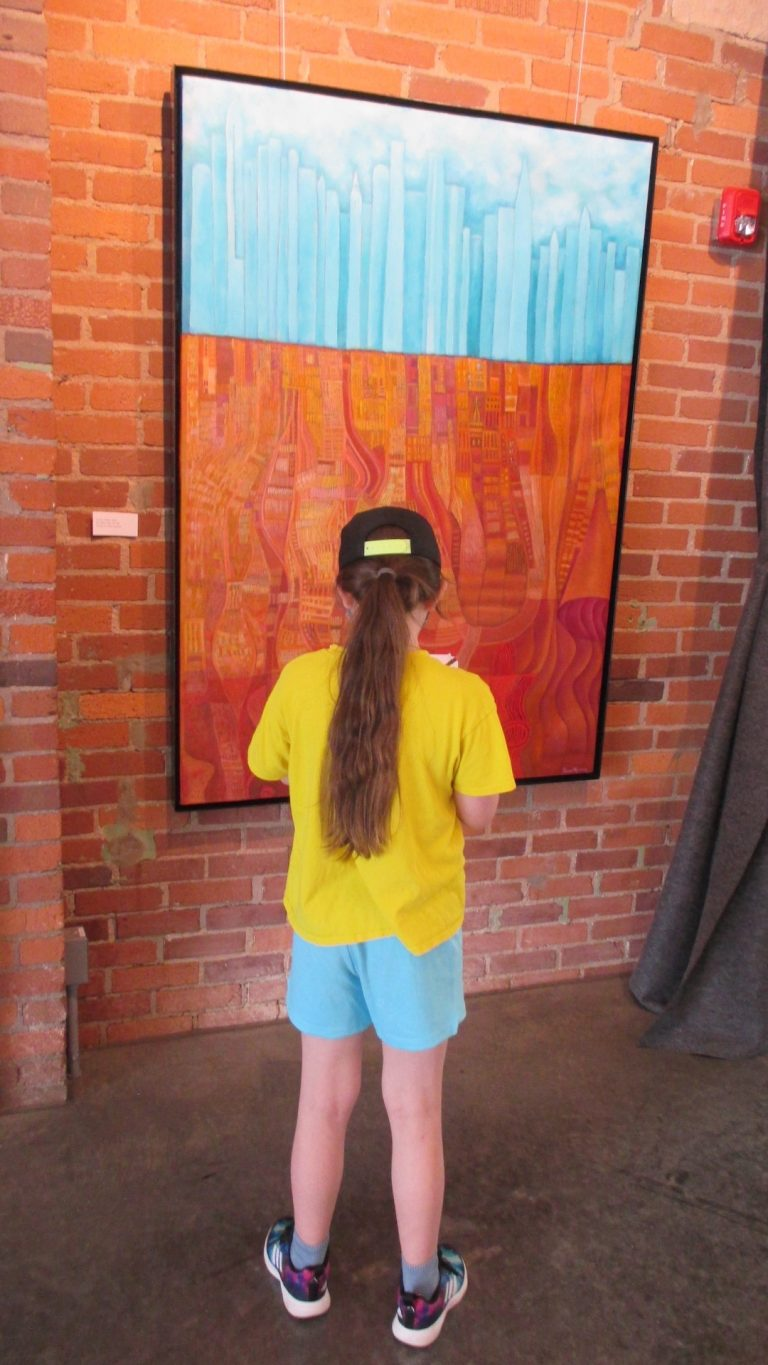 Category 5. 13. TPS student observes painting