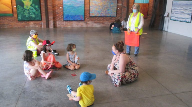 Category 6 & 7. 4. Sarah and Kriste work with with small groups of kids on Tuesday